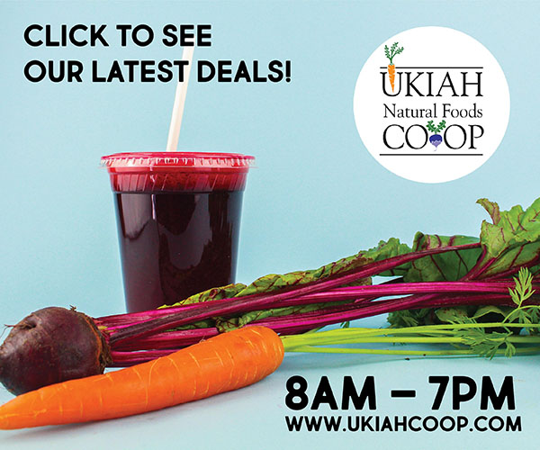 Ukiah Natural Foods Co-op ad