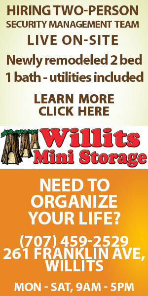 Willits Mini Storage classified
