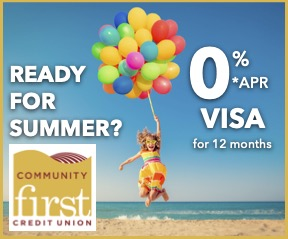 Community First Credit Union advertisement