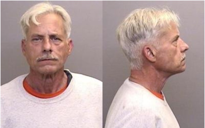 Steven Patrick Ryan, 62, from his Nov. 22 Sheriff's booking log entry. Ryan is accused of the homicide of 20 year old De'Shaun Davis.