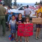 Children thank firefighters Potter Valley