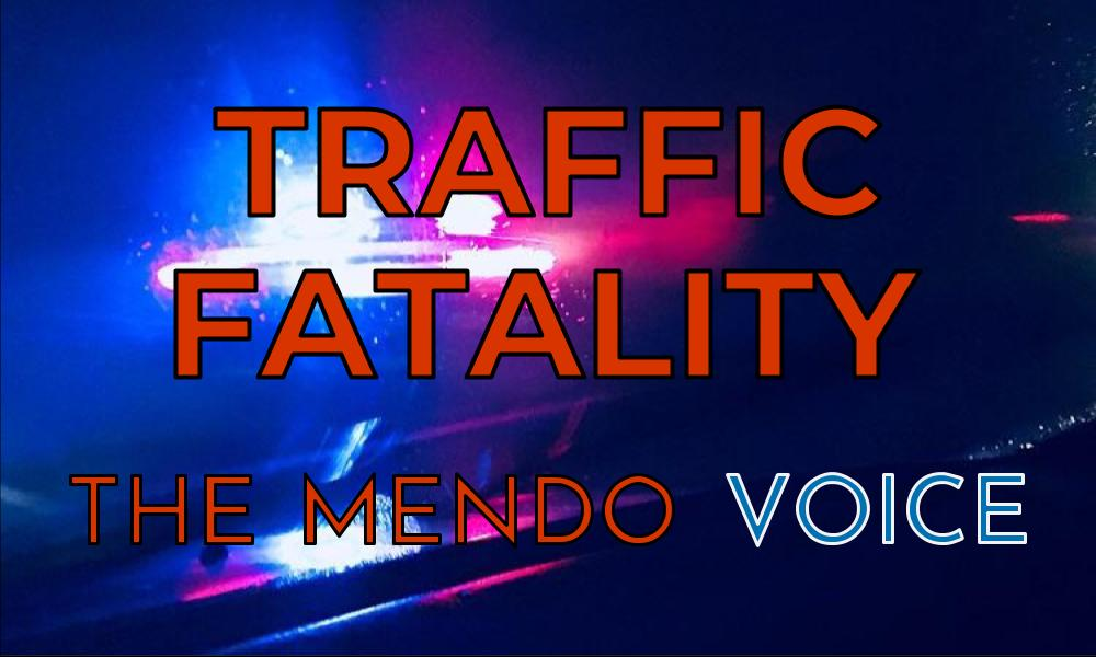 Mendocino Voice graphic - traffic fatality