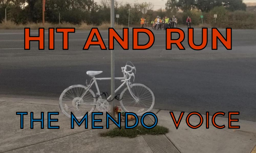 Mendocino Voice hit and run graphic