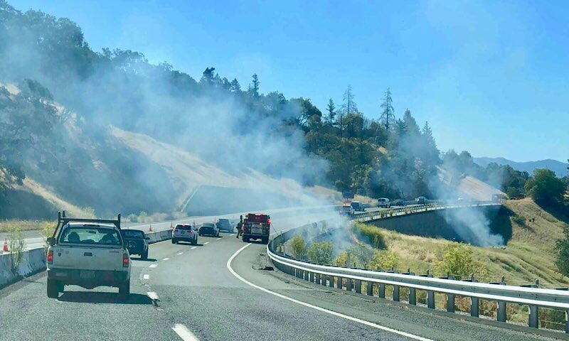July 23, 2019 Ridge Grade Fire